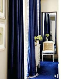 navy blue curtains for living room - Google Search