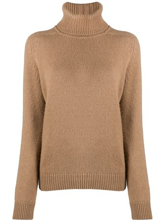 Saint Laurent Turtleneck Jumper - Farfetch