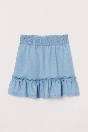 Flounced Skirt - Blue