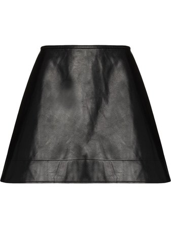 Shop SHUSHU/TONG A-line mini skirt with Express Delivery - FARFETCH