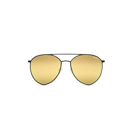 Sunglasses | Shop Women's Quay Australia Indio Sunglasses Black Gold at Fashiontage | QC-000189-BLK/GOLD
