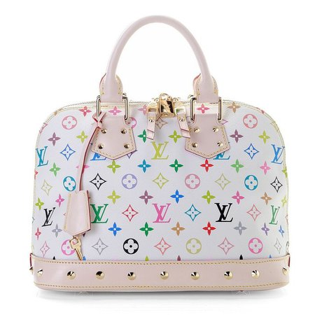 louis vuitton rainbow white purse - Google Search