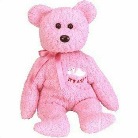 Ty Baby Girl Beanie Babies Teddy Bear 2002 Hang Tag 1996 Tush PE Pellets for sale online | eBay