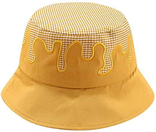 Amazon.com: MEANIT Bucket Hat, Cotton Packable Fishing Hunting Sunmmer Travel Bucket Cap Hat, Wide Brim Bucket Hat Yellow: Clothing
