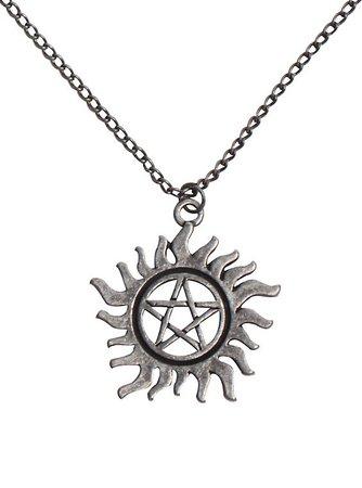 Supernatural Anti-Possession Symbol Necklace