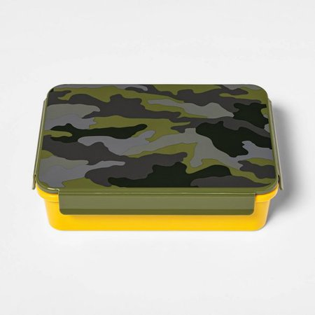 Bento Box With Non-Removable Divider Camo Decal - Cat & Jack™ : Target