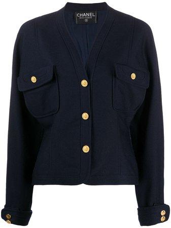 Chanel, V-neck jacket