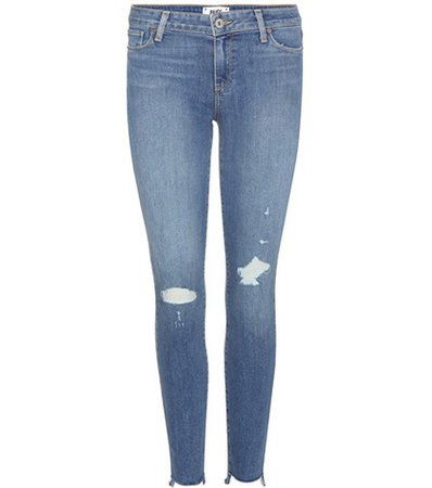 Verdugo Ankle distressed skinny jeans