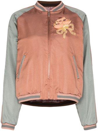 Gucci sequin cat face bomber jacket SS19 | Farfetch.com