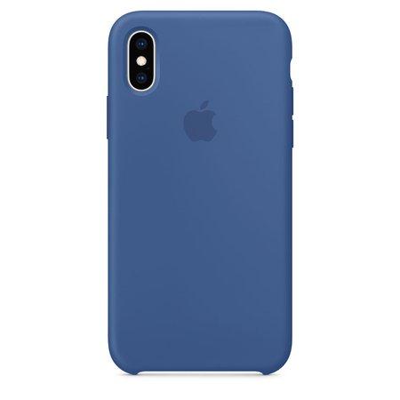 iPhoneXS Silikon Case – Delftblau - Apple (DE)