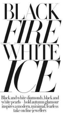 black fire white ice