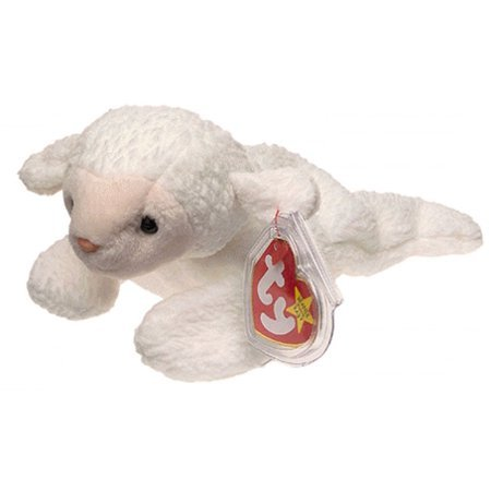Beanie Babies Fleece the Lamb Beanie Baby Plush - Walmart.com