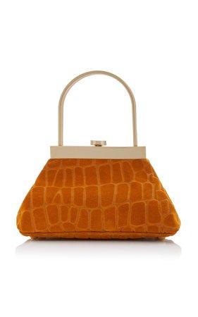 Mini Estelle Leather Top Handle Bag by Cult Gaia   Moda Operandi