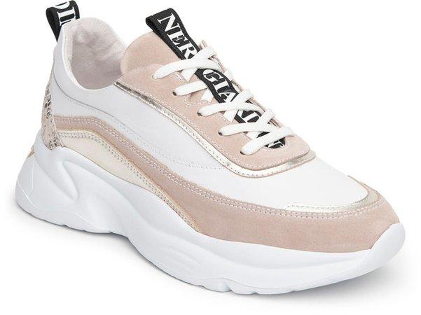 Mixed Media Sneaker