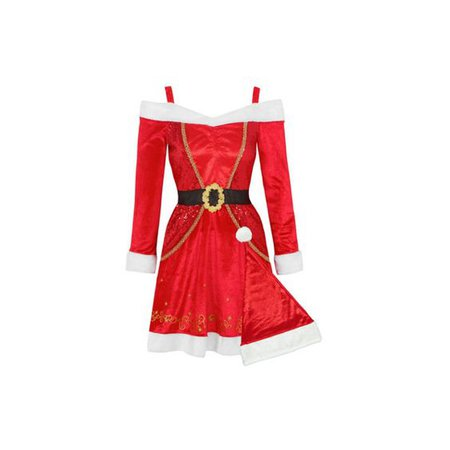 George Adult Mrs Santa Fancy Dress Costume