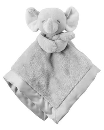 Baby Girl Elephant Security Blanket | Carters.com