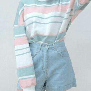 multicolored sweatshirt