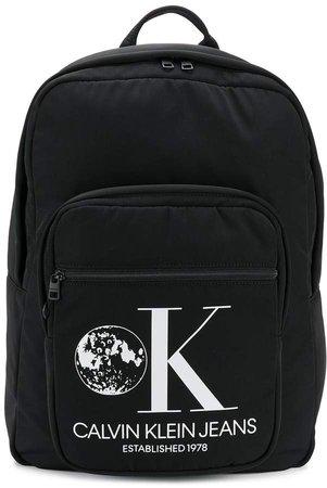 Est. 1978 large logo print backpack