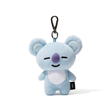 Amazon.com: BT21 Cooky Pluch Keyring One Size Pink: Office Products