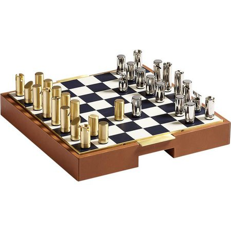 Fowler Chess Set | Ralph Lauren | LuxDeco.com