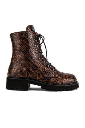 Snake Combat Boot