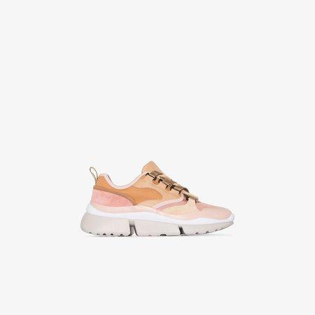 pink Blake low top sneakers