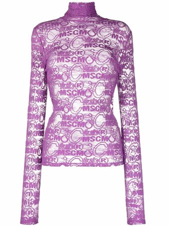 MSGM Club MSGM Knit Top - Farfetch