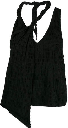 Twisted Neck Tank Top