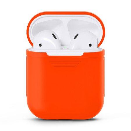 orange AirPods case