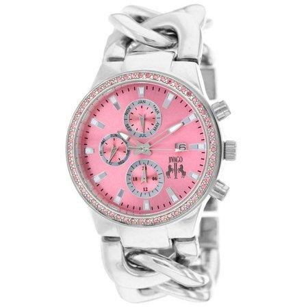 Watches   Shop Women's Pink Quartz Watch at Fashiontage   JV1228