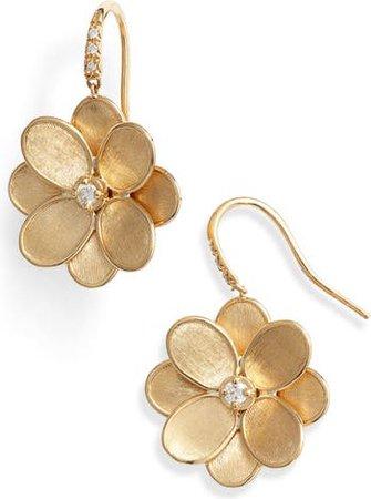 Marco Bicego Petali Diamond Drop Earrings | Nordstrom