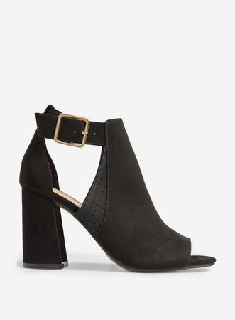 Black 'Arizona' Peep Toe Shoes | Dorothy Perkins