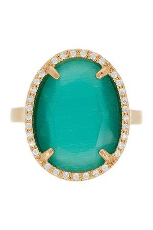 Panacea | Oval Stone Ring | Nordstrom Rack