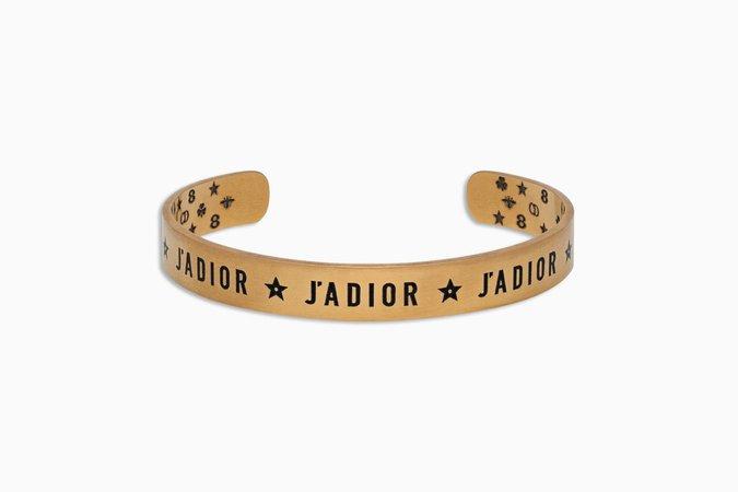 "Bracelet ""J'adior"" en métal vieilli doré - Dior"