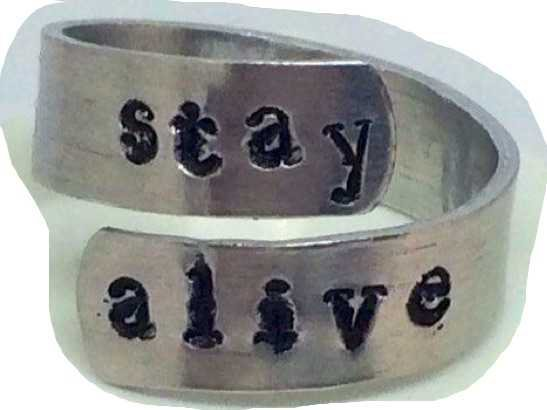stay alive ring