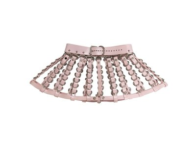 Jennette Skirt ( Pink + Silver ) · CREEPYYEHA · Online Store Powered by Storenvy