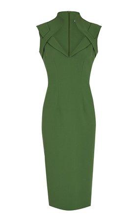 Loide Heavy Crepe Dress By Safiyaa | Moda Operandi