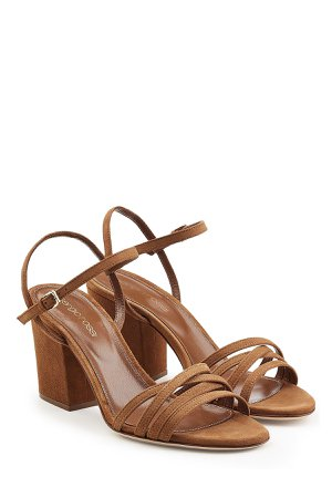 Strappy Suede Sandals Gr. IT 38