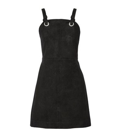 Croft Knotted Suede Mini Dress