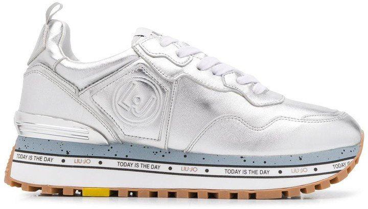 Maxi Alexa metallic sneakers