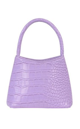 The Mini Chloe Croc-Effect Vegan Leather Top Handle Bag By Brie Leon | Moda Operandi
