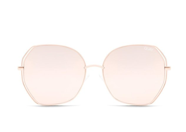 BIG LOVE Round Retro Sunglasses | Quay Australia