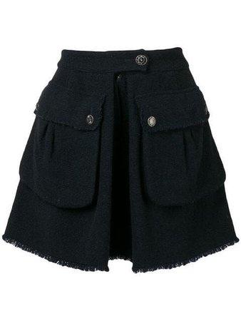 Shop Chanel Vintage tweed skirt