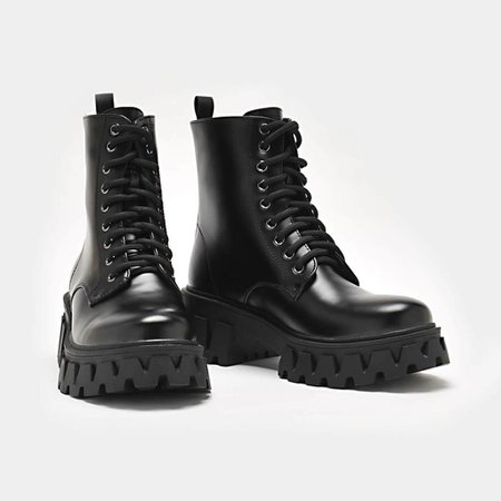*clipped by @luci-her* Bright Shadow Cyber Boots | Koi