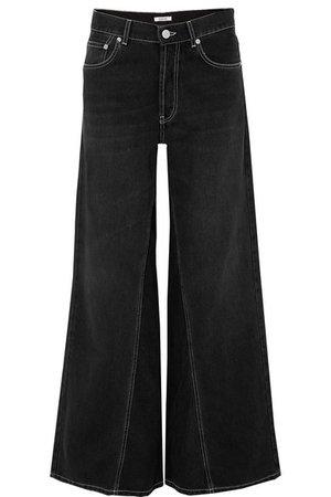 GANNI | High-rise wide-leg jeans | NET-A-PORTER.COM