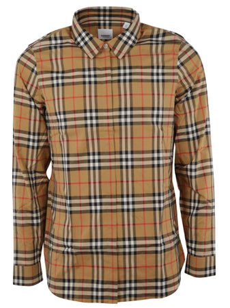 Burberry Woven Checked Shirt