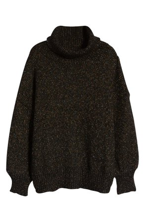 KUWALLA Speckled Turtleneck Sweater | Nordstrom