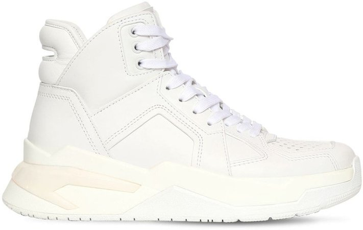 30mm B Ball Leather Sneakers