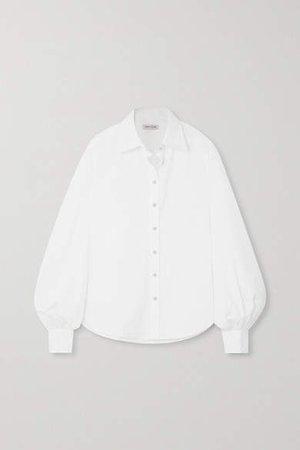 Anna Quan ANNA QUAN - Castiglia Cotton-poplin Shirt - White