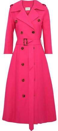 Charlotte Cotton-gabardine Trench Coat